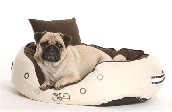 Hondenbed DERBY X-LARGE brown-beige von W&J