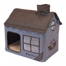 Happy-House Villa aviation collection 52x36x49 cm blauw