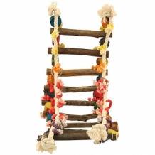 Jungle Wood and Rope Ladder