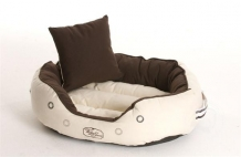 Hondenbed DERBY XX-LARGE brown-beige von W&J